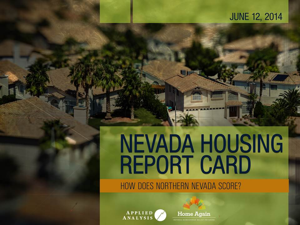 Nevada Housing Report Card: How Does Northern Nevada Score?