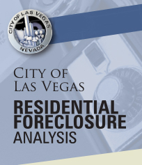 Cover, City of Las Vegas Residential Foreclosure Analysis